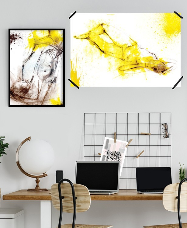 Multipanel | Yellow Paintings